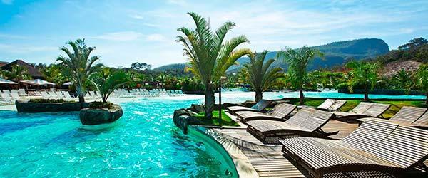 Melhores resorts para as férias de julho Rio Quente Resorts