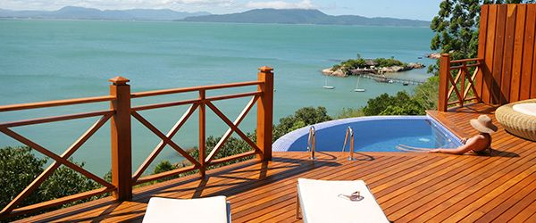 Resorts para casais Ponta dos Ganchos Exclusive Resort