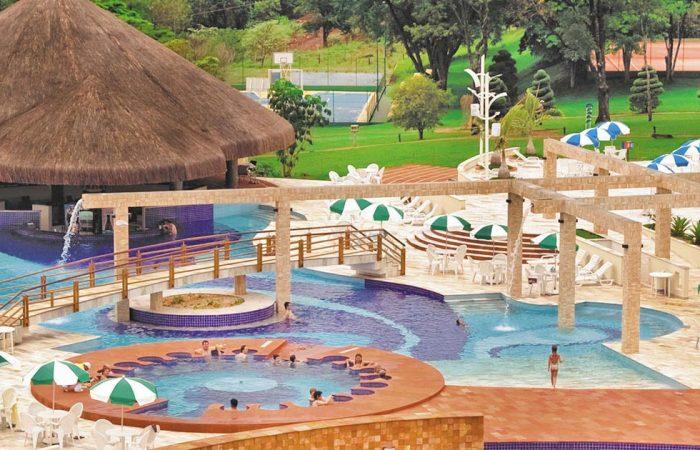Aguativa Resort piscina geral