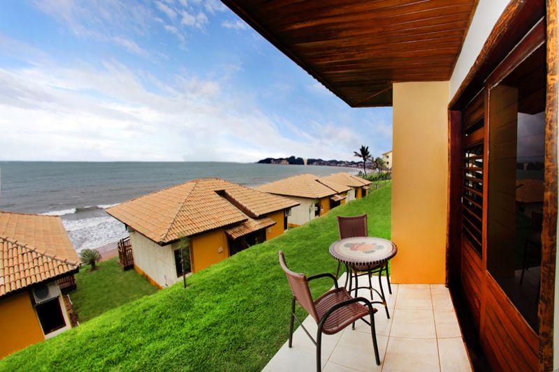 Apartamento Bangalow luxo com detalhes da varanda