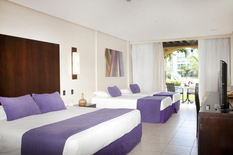 Apartamento Family Superior com duas camas casal
