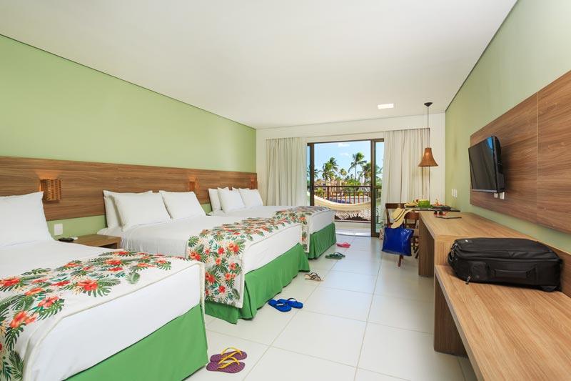 Apartamento Quintuplo detalhes camas casais
