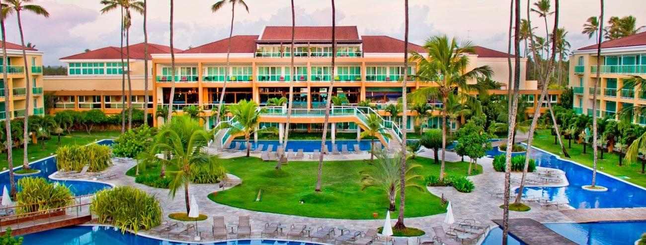 Grande fachada Enotel Resort Spa