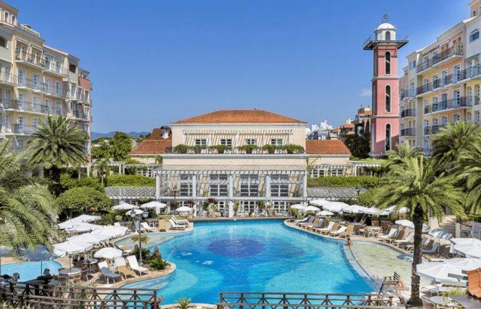 Il Campanário Resort com vista panorâmica na parte central
