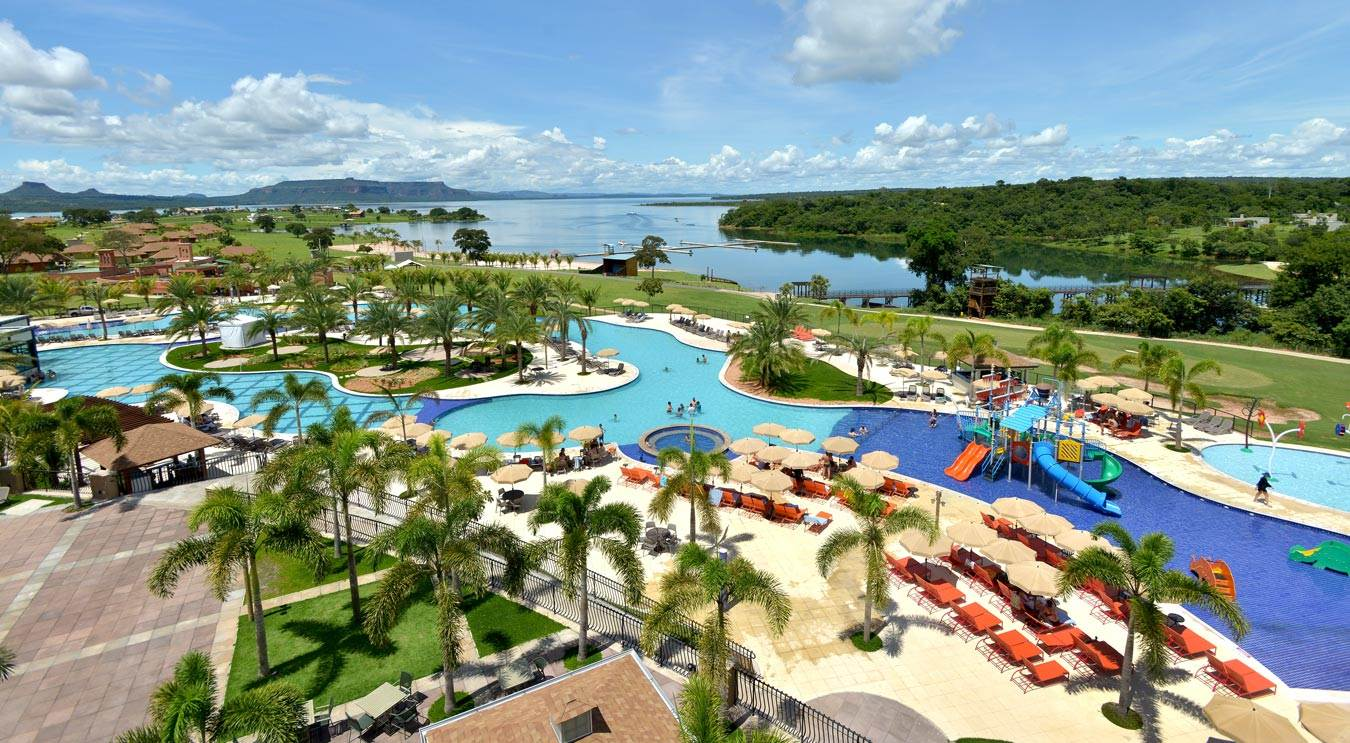 Malai Manso Resort detalhes vista aérea