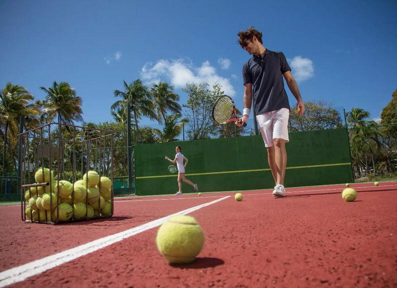 Quadra de tênis disponível