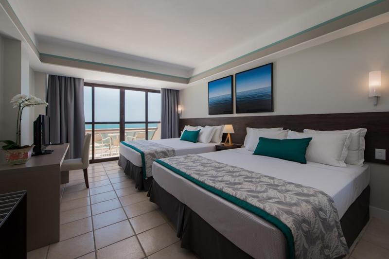 Superior Vista mar com duas camas casal