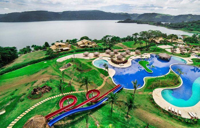 Vista aérea Tayaya Resort