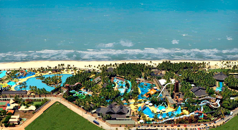 Vista panorâmica Acqua Beach Park