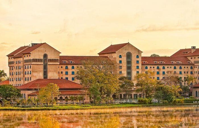 Vista panorâmica Tauá Grande Hotel e Termas de Araxá