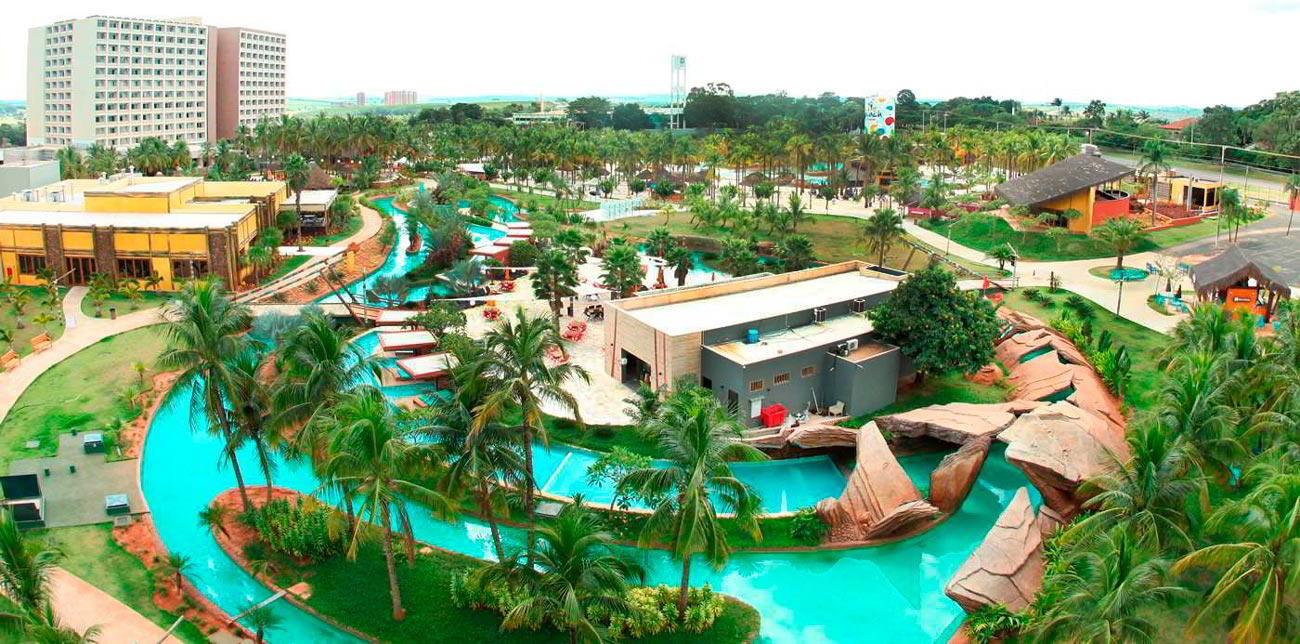 Hote Beach Resort em Olímpia São Paulo