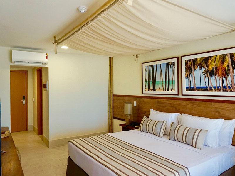 Apartamento Premium detalhes cama casal