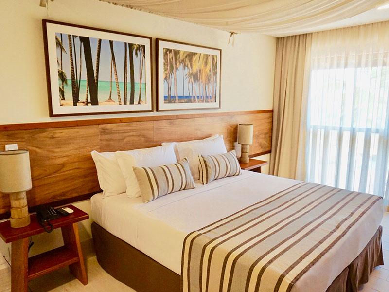 Apartamento Superior detalhes cama casal