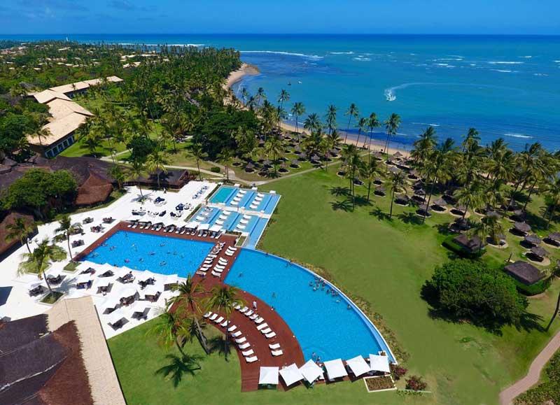 Vista aérea Tivoli Resort um lugar