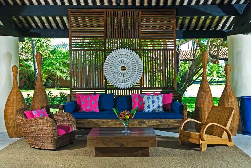 Lounge com decoração unica